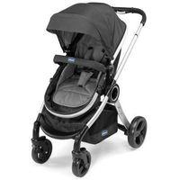 Wózek wielofunkcyjny  urban + fotelik samochodowy 0-13kg autofix + adaptery anthracite marki Chicco