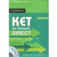 KET for Schools Direct Student's Book (podręcznik) with CD-ROM (lp) (120 str.)