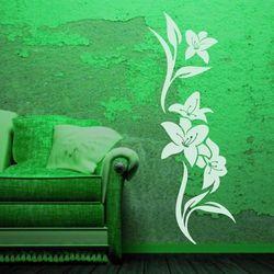 Deco-strefa – dekoracje w dobrym stylu Kwiaty 990 szablon malarski