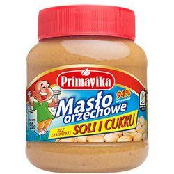 PRIMAVIKA 350g Masło orzechowe bez dodatku soli i cukru - sprawdź w wybranym sklepie