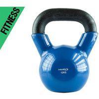 Kettlebell 12 kg kn pokryty winylem hms  fitness marki Kelton