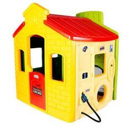 LT Domek Miejski Zabaw żółto zielony