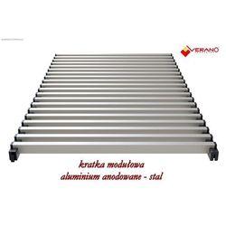 Kratka modułowa - 25/355 do grzejników vkn5, aluminium anodowane o profilu zamkniętym marki Verano