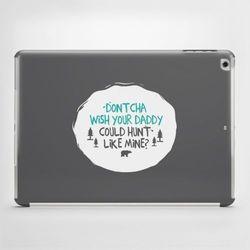 Etui na iPad Air: Dontcha wish your daddy..., towar z kategorii: Pokrowce i etui na tablety