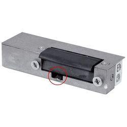Rygiel elektromagnetyczny (elektrozaczep) re-27g2 asymetryczny z wyłącznikiem 12v ac/dc wyprodukowany przez