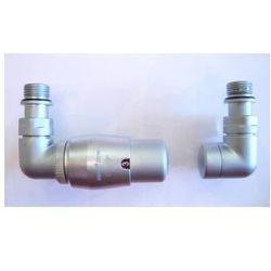 Zestaw zawór grzejnikowy termostatyczny satyna od producenta Vario term