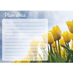 Tablica magnetyczna suchościeralna plan dnia tulipany 362 marki Wally - piękno dekoracji