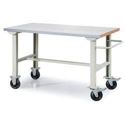 Mobilny stół roboczy SOLID 400, 1500x800 mm, stal