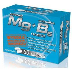 Mg magnez + witamina B6 60 tabl., postać leku: tabletki