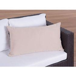 Poduszka ogrodowa - dekoracyjna - poduszka 40x70 cm karmelowa ()