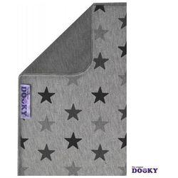 Dooky  dwustronny kocyk grey stars