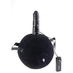 Nadmuchiwana sex piłka z wibratorem pufa marki Pipedream