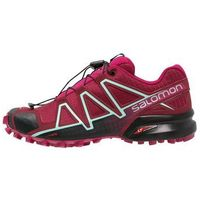 Salomon SPEEDCROSS 4 Obuwie do biegania Szlak tibetan red/sangria/black