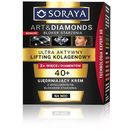 Soraya art & diamonds ujędrniający krem na noc z efektem liftingującym 40+ (with intelligent blocker aging) 50 ml (5901045049076)