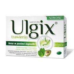 Ulgix Trawienie, 30 kapsułek (lek na wzdęcia)