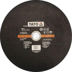 Tarcza do cięcia metalu 350x3,5x32 mm / YT-6136 / YATO - ZYSKAJ RABAT 30 ZŁ