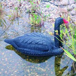 Ubbink Plastikowa ozdoba do ogrodowego oczka wodnego – czarny łabędź (8711465825214)