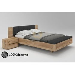 Łóżko dębowe lewitujące 02 160x200 marki Woodica