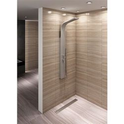 Panel prysznicowy srebrny 9731 Rea UZYSKAJ 5 % RABATU NA ZAKUP (5902557306015)