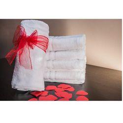 Ręcznik Hotelowy LUX 500 gr/m2 70x140 cm Biały 100% Bawełny Egipskiej, FA11-914B6