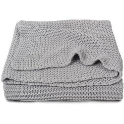 Jollein - Koc Heavy Knit Popielaty szary 75x100cm