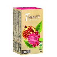 T'renute (herbaty) Herbata czarna o smaku granatu i żurawiny youthful me bio 30 g (1,5 g x 20 szt.) - t'renut