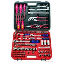 Beast zestaw narzędzi i kluczy nasadowych 106 elementów 341061