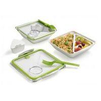 Pojemnik na lunch (lunchbox) lub bento  box appetit (+widelec, pojemnik na sos) - 5 kolorów do wyboru wyprodu