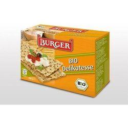 PIECZYWO CHRUPKIE ŻYTNIE RAZOWE BIO 250 g - BURGER - produkt z kategorii- Pieczywo, bułka tarta