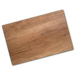Deska kuchenna duża szklana Drewniane tło