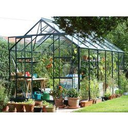 Szklarnia ogrodowa jupiter 2,57x3,83 m zielona - transport gratis! marki Vitavia