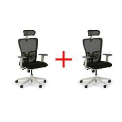 B2b partner Krzesło biurowe gam, 1+1 gratis, czarne