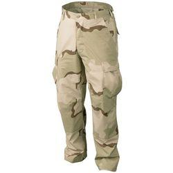 spodnie Helikon BDU Cotton Ripstop US desert LONG (SP-BDU-CR-02), w wielu rozmiarach, SP-BDU-CR-02