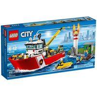 Lego City Łódź strażacka (5702015591881)