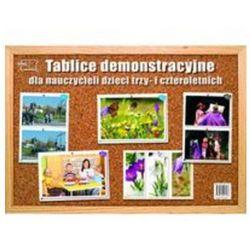 Tablice demonstracyjne dla nauczycieli dzieci trzy i czteroletnich, książka z kategorii Pedagogika