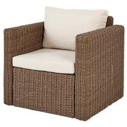 Fotel z podłokietnikami Blooma Soron 76 x 72 x 70 cm brązowy (3663602937357)