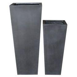 Donica ogrodowa KLOSTERS czarna 75cm, ML3265