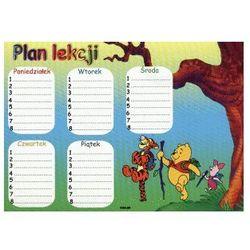 Naklejki plan lekcji mały (6210110962165)