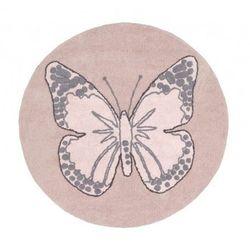 Dywan do Prania w Pralce Butterfly Nude z kategorii Dywany dla dzieci