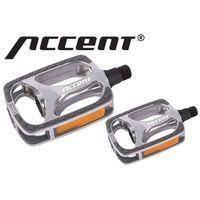 Accent 600-10-48_acc pedały  towny aluminiowe, łożyska kulkowe, srebrne (5906720818817)