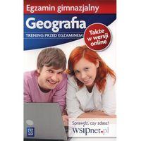Egzamin Gimnazjalny Geografia Trening Przed Egzaminem (9788302124617)