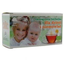Herbata dla dzieci i niemowląt BIO 20 x 2g - Dary Natury z kategorii Posiłki dla dzieci