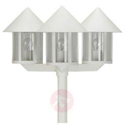 Maszt oświetleniowy lampione 3-punktowy biały marki Albert leuchten