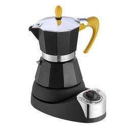 kawiarka elektryczna 9issima 6 filiżanek 6tz żółta marki G.a.t.