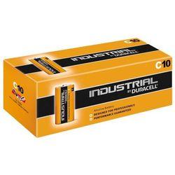 10 x bateria alkaliczna  industrial lr14 c, marki Duracell