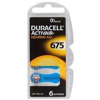 6 x baterie do aparatów słuchowych  activair 675 mf marki Duracell