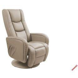 Fotel pulsar cappuccino recliner z funkcją masażu i podgrzewania - złap rabat: kod50 marki Halmar