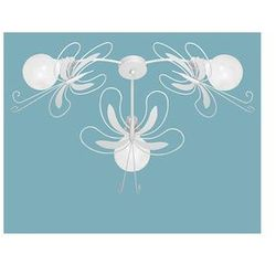 Plafon dziecięcy motyl 3xe27/60w biała marki Luminex