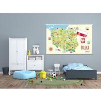 Mapa Polski - mapa naścienna