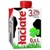 Mleko łaciate uht 3,2% 0,5l x 8szt. marki Mlekpol